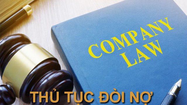 Thủ tục khởi kiện đòi nợ theo quy định của pháp luật 2020 – Luật 24h
