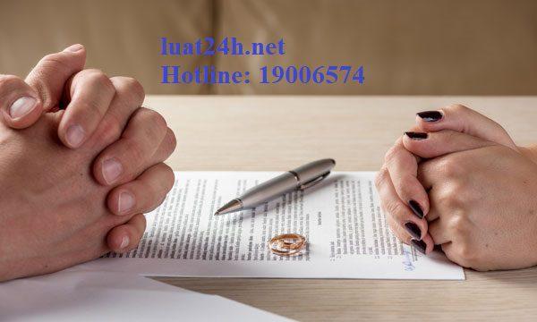 Mẫu đơn ly hôn và thủ tục đơn phương ly hôn chính xác nhất-Luật 24H