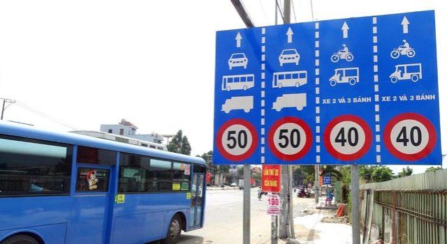 Tốc độ tối đa cho phép đối với các loại xe cơ giới chuyên dùng – Luật 24H