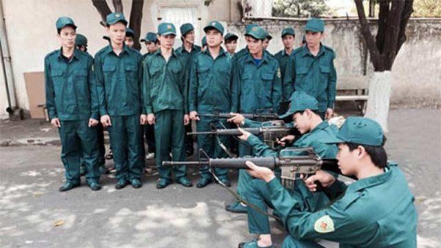 Thời gian phục vụ trong dân quân tự vệ – luật 24h