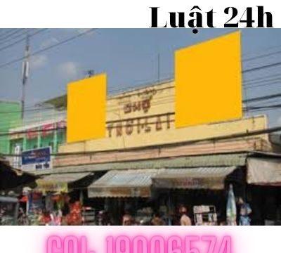 Giải quyết ly hôn nhanh tại tòa án huyện Thới Lai – Luật 24h