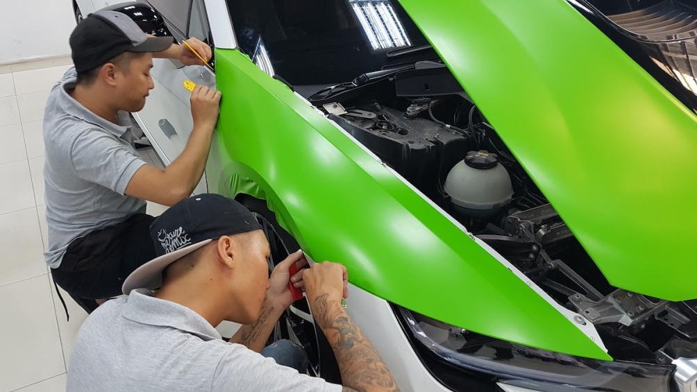 Tự ý đổi màu sơn xe có bị phạt hay không? – luật 24h