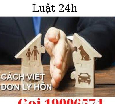 Hướng dẫn thủ tục và cách viết đơn ly hôn tại thành phố Rạch Giá – Luật 24h