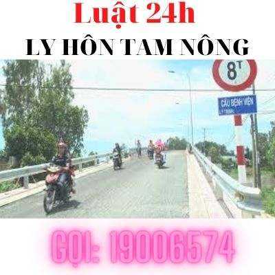 Ly hôn nhanh tại huyện Tam Nông