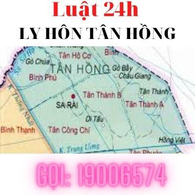 Giải quyết ly hôn nhanh tại tòa án huyện Tân Hồng