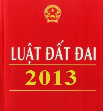 Luật Đất Đai năm 2013