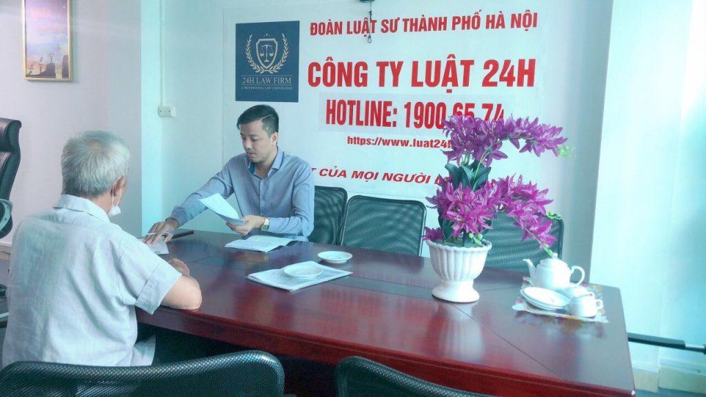 Văn phòng luật sư tư vấn thủ tục giải quyết tranh chấp đất đai tại Huyện Phù Cừ