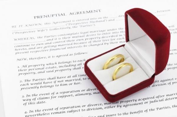 Có được phép lập hợp đồng tiền hôn nhân hay không?
