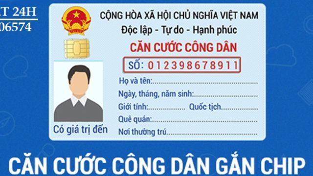 Thủ tục đổi CMND và thẻ CCCD mẫu cũ sang CCCD gắn chíp